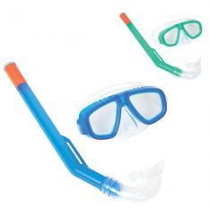 BW Набір для плавання 24018sh маска, трубка, 2 кольори