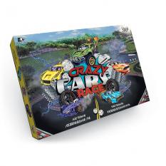 "Гра настільна 0356dn (20шт) ""Crazy Cars Race"", ""Данко-тойс"", в коробці"