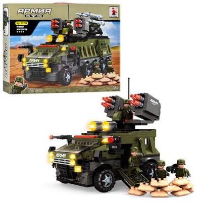 Конструктор AUSINI 22704 Армія, військова техніка