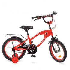 Велосипед дитячий PROF1 16д. Y16181 (1шт / ящ) TRAVELER, червоний