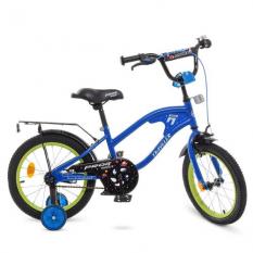 Велосипед дитячий PROF1 16д. Y16182 (1шт / ящ) TRAVELER, синій