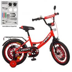Велосипед дитячий PROF1 18д. XD1846 (1шт/ящ) Original boy, червоно-чорний