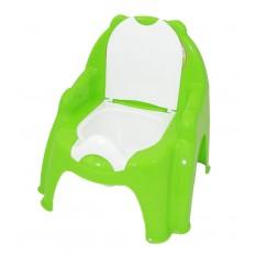 Горщик-крісло 4074 синій, зелений