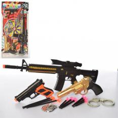 Набір зі зброєю 808-62 поліція, на аркуші