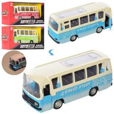 Автобус AS 2465 АвтоСвіт, метал, в коробці
