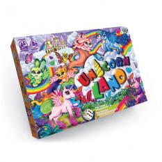 """Гра настільна 0360dn (20шт) """"Unicorn Land"""", """"Данко-тойс"""", в коробці"""