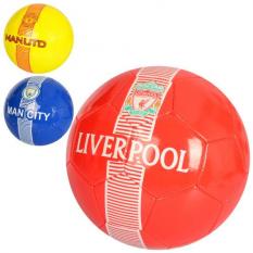 М'яч футбольний EV 3313 розмір 5, клуби, в кульку