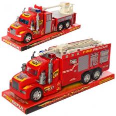 Пожежна машина 689-110-111 інерційна, в коробці