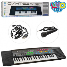 Синтезатор MS-3738 мікрофон, в коробці