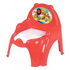 Горщик дитячий 3244 крісло, Технок, 3 кольори(червоний, помаранчевий, рожевий)
