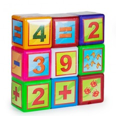 """Кубик 020-3 """"BAMSIK"""", математика"""