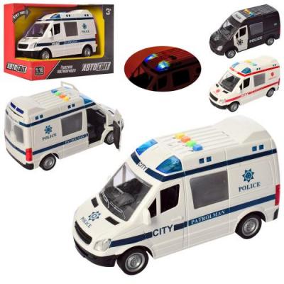 Машина AS 2185 АвтоСвіт, інерційна, в коробці