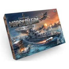 """Гра настільна 0362dn """"Морской бой. Битва админиралов"""", """"Данко-тойс"""", в коробці"""