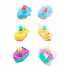 Водоплавна іграшка 1267-1-2-3 транспорт, в кульку
