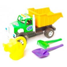 """Вантажівка Бамсик 008-3 """"BAMSIK"""" з лійкою у вигляді слоника"""