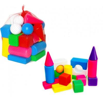 """Кубики будівельні """"Сіті Лайф"""" 102 малий, сітка 1"""