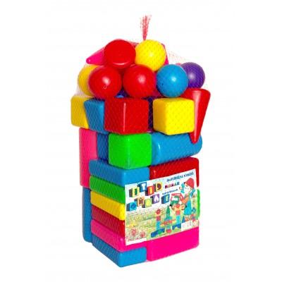 """Кубики будівельні """"Сіті Лайф"""" 104 малий, сітка 3"""