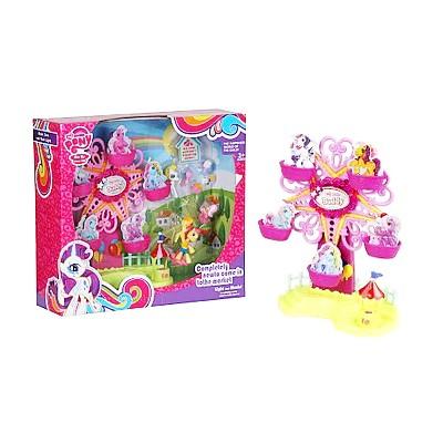 """Будиночок LP 789 """"Little Pony"""", карусель, музика, світло, в кор-ке"""