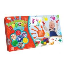 """Фарби пальчикові PK-02-01 4 кольори, рос., """"Danko-toys"""""""
