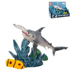 Тварини 5501-9 риба-молот, рухливі деталі, в коробці