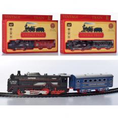 ЖД 5299-76-77-78 локомотив, на батарейках, в коробці