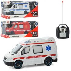 Машинка 688-788-888 р / у, швидка, пожарнаи, поліція, в коробці