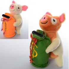 Скарбничка MP 1695 свинка, на батарейках