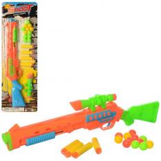 Рушниця 222 D кулі-присоски, на аркуші