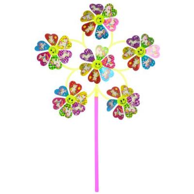 Вітрячок M 6243 діаметр 31 см, квітка, в кульку