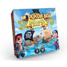 """Гра настільна G-MB-04 """"Морський бій. Pirates Gold"""", """"Данко-тойс"""", в коробці"""