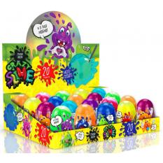"""Лизун """"Crazy Slime"""" SLM-06-01 (1уп / 20шт) В'язка маса, колба, """"Данко тойс"""", рос."""