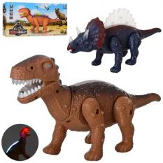 Динозавр 8868-1-2 ходить, на батарейках, в коробці