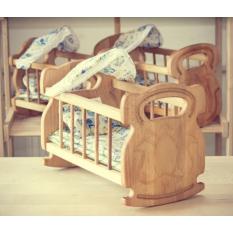 Ліжечко-колиска 03-102 с набором постельного білизни, в коробці