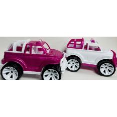"""Машина 339-339 """"BAMSIK"""", внедорожник, рожевий"""