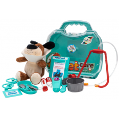 """Набір ветеринара 919-919 """"Оріон"""", з вихованцем, в валізі"""