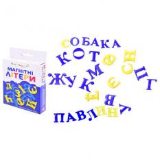 """Буквы магнитные KI-7001 """"Украинский алфавит"""", в коробке"""