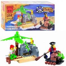 Конструктор BRICK 314 Піратська серія