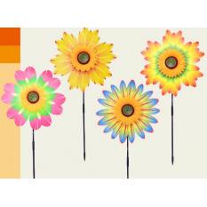 Вітрячок W 2006 квіти, на паличці 57 см, в кульку