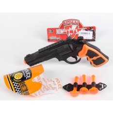 Пистолет с присосками 01-12 (1555769) (480шт/2) в пакете 18,5*1,5*11см