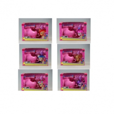 Герои  ZT9952 собачка короб (1581306) (30шт/2) с аксес., в коробке 29*14,5*19см