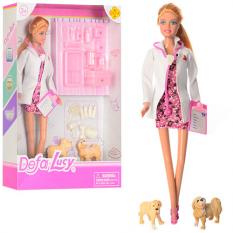Лялька DEFA 8346 A Доктор, в коробці