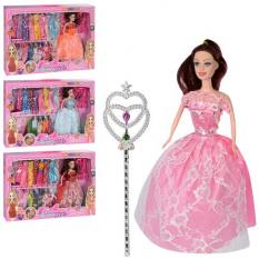 Лялька KL 850 A сукні, аксесуари, в коробці