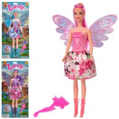 Лялька LY-2826 фея з крилами, на аркуші