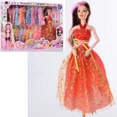 Лялька з нарядом 8847 A шарнірна, в коробці