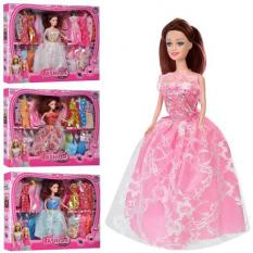 Лялька з нарядом KL 888 C сукні, в коробці