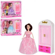 Лялька з нарядом KL 888 E мікс видів, в коробці
