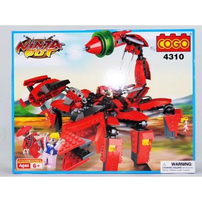 """Конструктор COGO CG 4310 """"Бойовий скорпіон"""""""