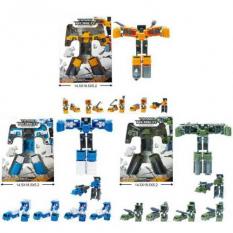 Трансформер 116-106-07-08 A 5в1, робот + машинка, в коробці