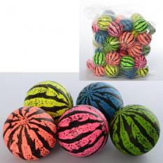 Стрибуни MS 1764 (1уп / 50шт) 4,5 см, кавун, мікс кольорів, в кульку
