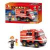 Конструктор SLUBAN M38-В0276 пожежна машина, 133 подітий, в кор-ке